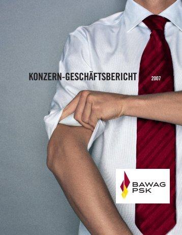 KONZERN-GESCHÄFTSBERICHT 2007 - Bawag