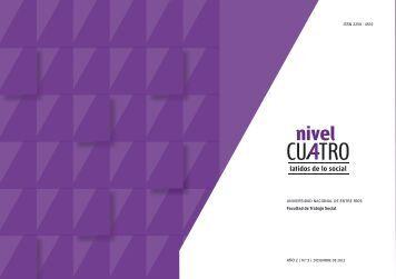 Nivel Cuatro - Facultad de Trabajo Social - Universidad Nacional de ...