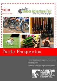 TO DOWNLOAD Outdoor Adventure Fair Trade Prospectus