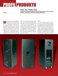 PROFIL PRODUKTU - FX-Music Group