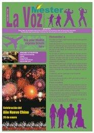 Revista Enero 2009 - Mester