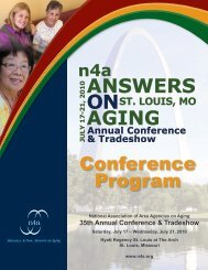 Conference Program - n4a