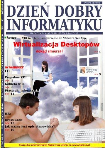 Wirtualizacja Desktopów - Dzień Dobry Informatyku