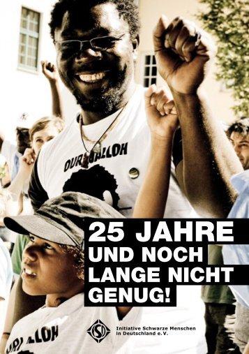 25 jahre - Black Community Blog - Initiative Schwarze Menschen in ...