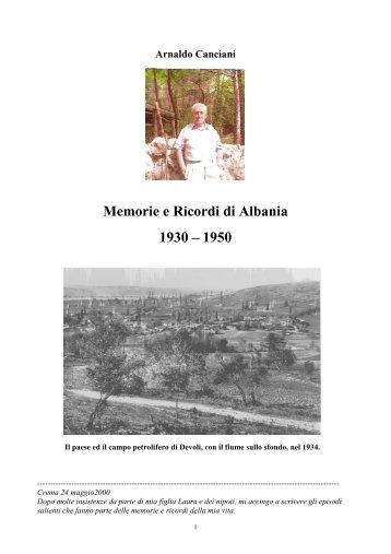 Canciani_in_Albania_1930-50 - associazione pionieri e veterani eni