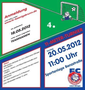 20.05.2012 11:00 Uhr - FC Königsbrunn