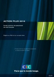Action Plus 2016 - CIC