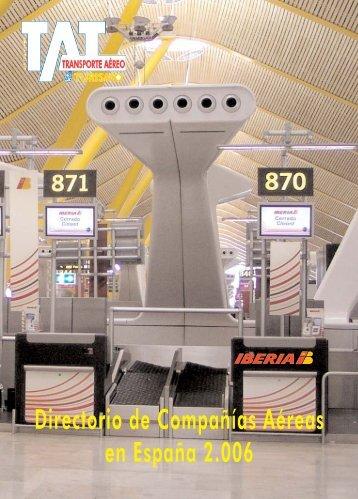 Directorio - Compañias aéreas - TAT Revista