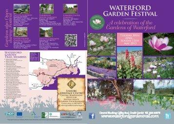 2013 Waterford Garden Festival Programme (Adobe.PDF, 2130 kbs)