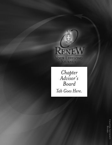 Renew Manual - Sigma Chi Fraternity