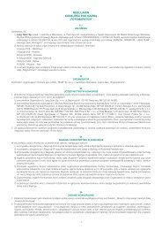 Regulamin Konkursu Fotomaraton - Skandia Maraton