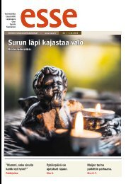 Esse 44/2012 (pdf) - Espoon seurakuntasanomat