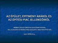 AZ ÉPÍTÉSI PIAC 2007. ÉVI JELLEMZŐIRŐL - mono.eik.bme.hu