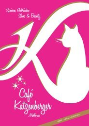 Café Katzenberger Mallorca Speisen, Getränke, Shop & Beauty