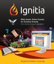 2012-13 Ignitia Brochure - Athens Christian School