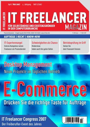 IT Freelancer Magazin Nr. 2/2007