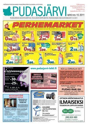 ILMAISEKSI - Pudasjärvi-lehti ja VKK-Media Oy
