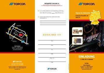 einladung - Topcon Positioning