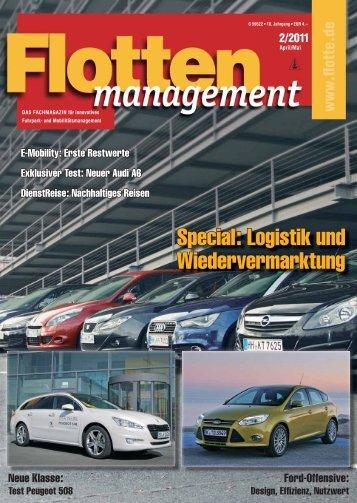 Special: Logistik und Wiedervermarktung - Flotte.de