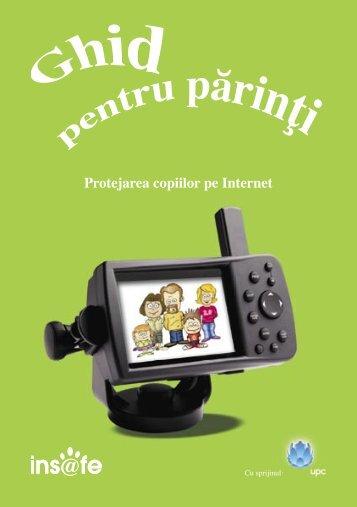 Protejarea copiilor pe internet