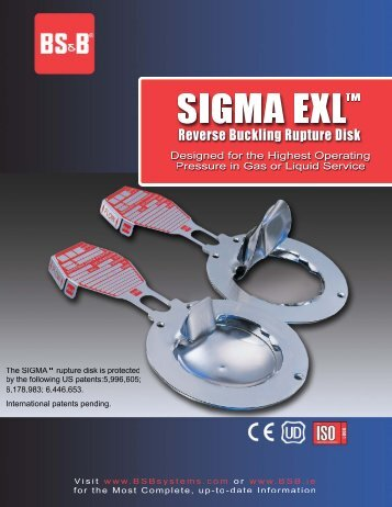 Sigma EXL - BS&B Safety Systems
