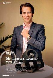 Mr. Laurent Lecamp - Cyrus