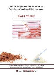 Untersuchungen zur mikrobiologischen Qualität von ...