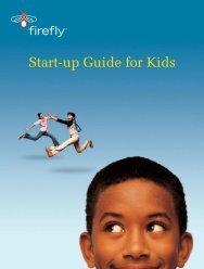Start-up Guide for Kids - Firefly Mobile