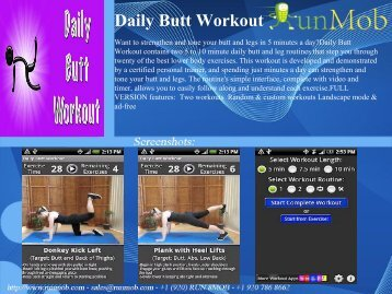 Daily Butt Workout - RunMob
