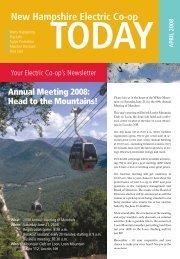 April 2008 Newsletter - NHEC!