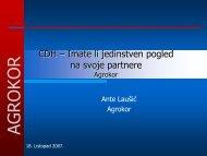 207_Laušić Implementacija CDH rješenja u Agrokoru.pdf - HrOUG