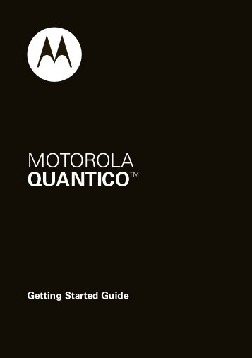 NA English/Spanish Quantico Getting Started Guide - Nex-Tech ...