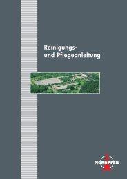 Reinigungs- und Pflegeanleitung - Norddeutsche Teppichfabrik GmbH