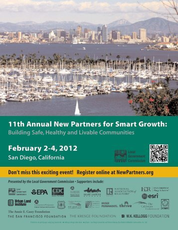 Download the conference brochure - New Partners for Smart Growth ...
