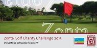 Zonta Golf Charity Challenge 2013