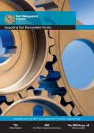 Supporting Best Management Practice - Introducing the Best ...
