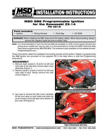 MSD SB6 Programmable Ignition for the Kawasaki ZX ... - MPS Racing