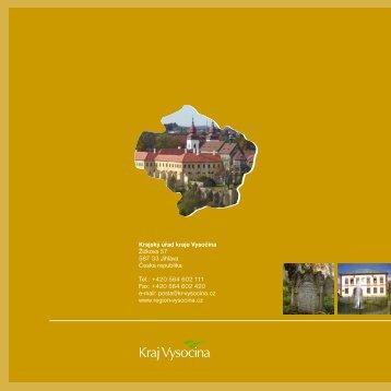 Památky UNESCO - Extranet - Kraj Vysočina