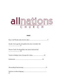 Sie Spielend Teil - All Nations Church - World Map Selection Page
