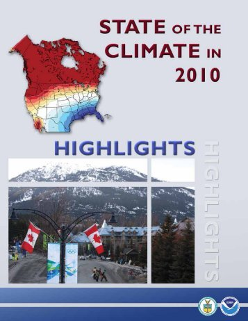 State of the Climate in 2010 - National Climatic Data Center - NOAA