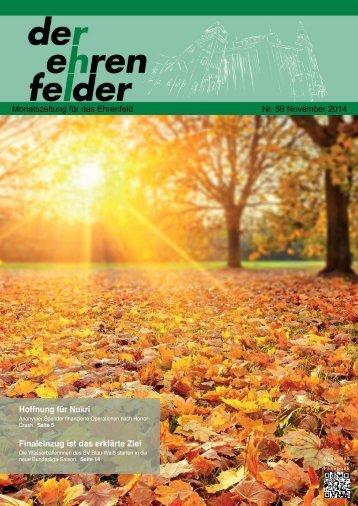 Der Ehrenfelder 59 - November 2014