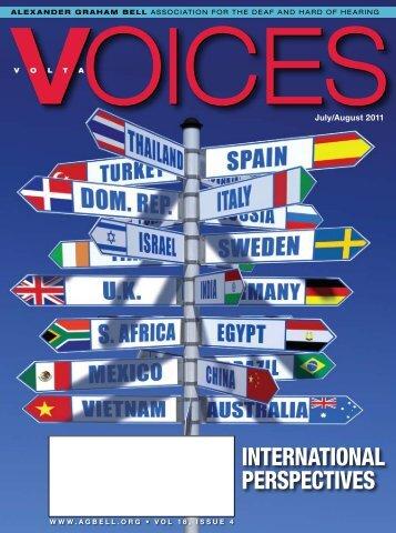international perspectives - Alexander Graham Bell Association