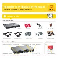 Guide d'installation Digibox DB-AD120 - Klantenservice - Telenet