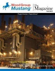 Fall 2012 - Mustang Engineering Inc.