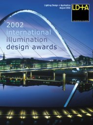 2002 international illumination design awards - Illuminating ...