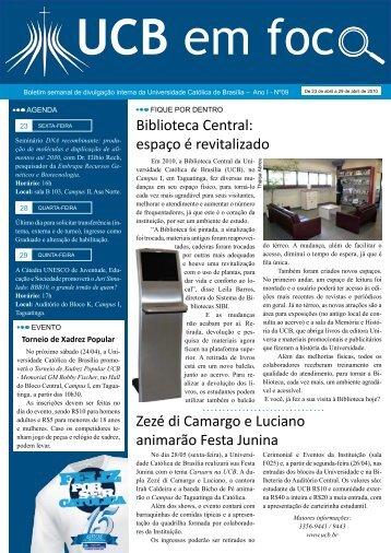 Documento - Universidade Católica de Brasília