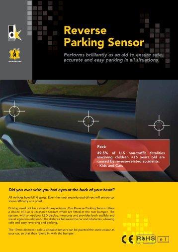 Reverse Parking Sensor P - DK-Schweizer