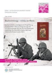 Afrika im Blick - Die Dritte Welt im Zweiten Weltkrieg