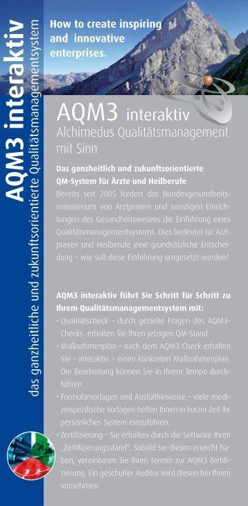 A QM3 interaktiv - Alchimedus