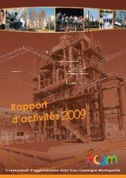Rapport d'activités 2009 - ACCM